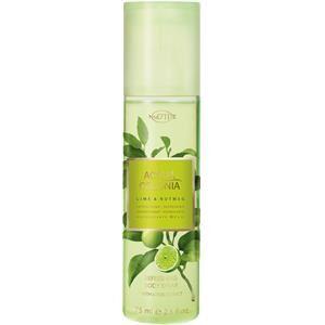 4711 Acqua Colonia Unisex-tuoksut Lime & Nutmeg Vartalosuihke 75 ml