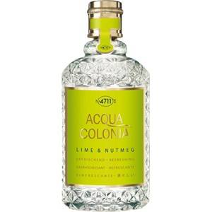 4711 Acqua Colonia Unisex-tuoksut Lime & Nutmeg Eau de Cologne Splash & Spray 170 ml