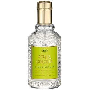 4711 Acqua Colonia Unisex-tuoksut Lime & Nutmeg Eau de Cologne Spray 50 ml