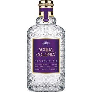 4711 Acqua Colonia Unisex-tuoksut Saffron & Iris Eau de Cologne Spray 50 ml