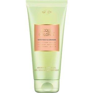 4711 Acqua Colonia Unisex-tuoksut White Peach & Coriander Aroma Shower Gel 200 ml