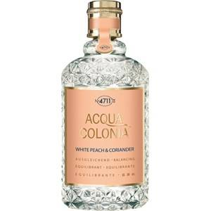 4711 Acqua Colonia Unisex-tuoksut White Peach & Coriander Eau de Cologne Splash & Spray 170 ml