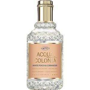 4711 Acqua Colonia Unisex-tuoksut White Peach & Coriander Eau de Cologne Spray 50 ml