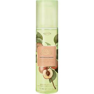 4711 Acqua Colonia Unisex-tuoksut White Peach & Coriander Refreshing Body Spray 75 ml