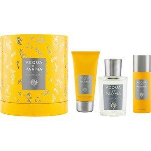 Acqua di Parma Miesten tuoksut Colonia Pura Gift Set Eau de Cologne Spray 100 ml + Shower Gel 75 ml + Deodorant Spray 50 ml 1 Stk.