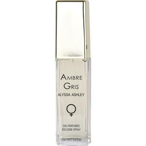 Alyssa Ashley Naisten tuoksut Ambre Gris Eau Parfumée Colgne Spray 100 ml