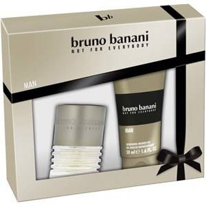 Bruno Banani Miesten tuoksut Man Gift Set Eau de Toilette Spray 30 ml + Shower Gel 50 ml 1 Stk.