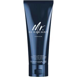 Burberry Miesten tuoksut Mr.  Indigo All-In-One Shaving Cream 75 ml