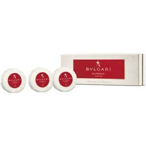 Bvlgari Unisex-tuoksut Eau Parfumée au Thé Rouge Soap 3 Stk.