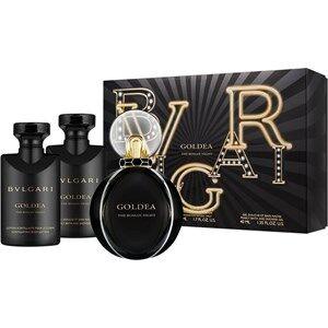 Bvlgari Naisten tuoksut Goldea The Roman Night Gift Set Eau de Parfum Spray 50 ml + Pearly Bath and Shower Gel 40 ml + Scintillating Body Lotion 40 ml 1 Stk.