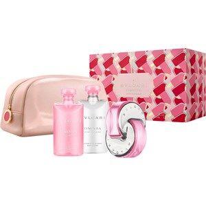 Bvlgari Naisten tuoksut Omnia Pink Sapphire Gift set Eau de Toilette Spray 65 ml + Shower Gel 75 ml+ Body Lotion 75 ml + Pouch 1 Stk.