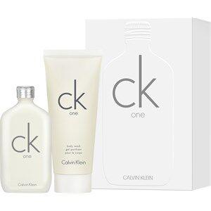 Calvin Klein Unisex-tuoksut ck one Gift set Eau de Toilette Spray 50 ml + Body Wash 100 ml 1 Stk.