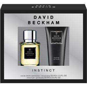 David Beckham Miesten tuoksut Instinct Gift Set Eau de Toilette Spray 30 ml + Shower Gel 75 ml 1 Stk.