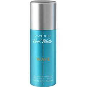 Davidoff Miesten tuoksut Cool Water Wave All Over Body Spray 150 ml