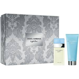Dolce&Gabbana Naisten tuoksut Light Blue Gift Set Eau de Toilette Spray 25 ml + Refreshing Body Cream 50 ml 1 Stk.