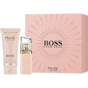 Hugo Boss Boss Black -tuoksut naisille Boss Ma Vie Pour Femme Gift Set Eau de Parfum Spray 30 ml + Perfumed Body Lotion 100 ml 1 Stk.