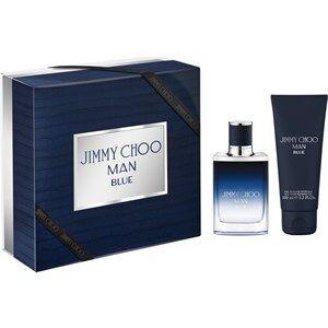 Jimmy Choo Miesten tuoksut Man Blue Gift Set Eau de Toilette Spray 50 ml + Shower Gel 100 ml 1 Stk.