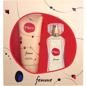 Miro Naisten tuoksut Femme Lahjasetti Eau de Parfum 50 ml + 100 ml Bodylotion 1 Stk.