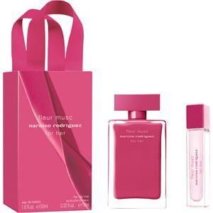 Narciso Rodriguez Naisten tuoksut for her Fleur Musc Lahjasetti Eau de Parfum Spray 50 ml + Hair Mist 10 ml 1 Stk.