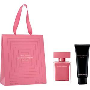 Narciso Rodriguez Naisten tuoksut for her Fleur Musc Lahjasetti Eau de Parfum Spray 30 ml + Body Lotion 75 ml 1 Stk.