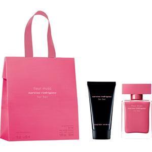 Narciso Rodriguez Naisten tuoksut for her Lahjasetti Eau de Parfum Spray Fleur Musc 30 ml + Body Lotion For Her 50 ml 1 Stk.