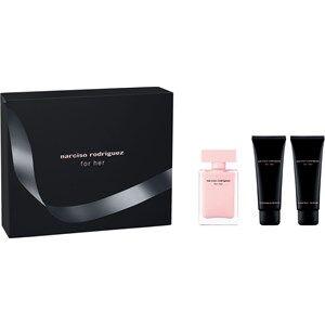 Narciso Rodriguez Naisten tuoksut for her Gift Set Eau de Parfum Spray 50 ml + Shower Gel 75 ml + Body Lotion 75 ml 1 Stk.