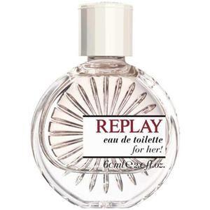 Replay Naisten tuoksut Woman Eau de Toilette Spray 40 ml
