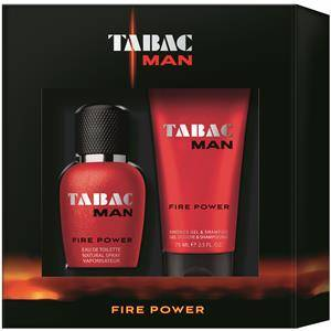 Tabac Miesten tuoksut  Man Fire Power Gift Set Eau de Toilette Spray 30 ml + Shower Gel & Shampoo 75 ml 1 Stk.