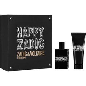 Zadig & Voltaire Miesten tuoksut This Is Him! Gift Set Eau de Toilette Spray 50 ml + All Over Shower Gel 100 ml 1 Stk.