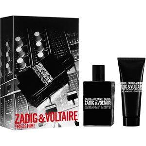 Zadig & Voltaire Miesten tuoksut This Is Him! Gift set Eau de Toilette Spray 50 ml + Shower Gel 75 ml 1 Stk.