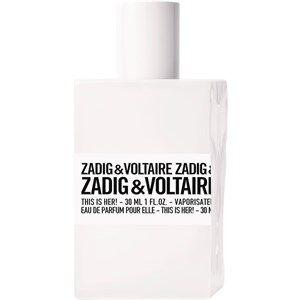 Zadig & Voltaire Naisten tuoksut This is Her! Eau de Parfum Spray 30 ml