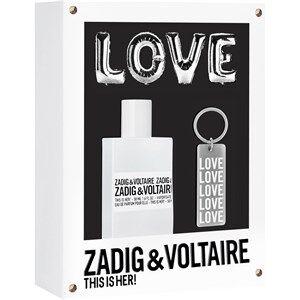 Zadig & Voltaire Naisten tuoksut This is Her! Gift Set Eau de Parfum Spray 30 ml + Schlüsselanhänger 1 Stk.