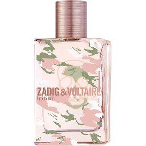 Zadig & Voltaire Naisten tuoksut This is Her! No Rules Eau de Parfum Spray 20 ml