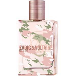 Zadig & Voltaire Naisten tuoksut This is Her! No Rules Eau de Parfum Spray 50 ml