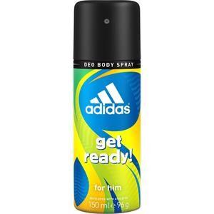 Adidas Miesten tuoksut Get Ready For Him Deodorant Body Spray 2 x 150 ml