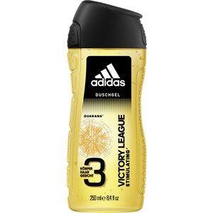 Adidas Miesten tuoksut Victory League Shower Gel 2 x 250 ml