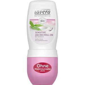 Lavera Basis Sensitiv Vartalonhoito Sensitive 24h Deodorant Roll-On 50 ml