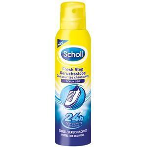 Scholl Jalkahoito Kenkien ja jalkojen raikkaus Fresh Step Hajulle stop Kenkädeodorantti 150 ml