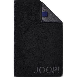 JOOP! Pyyhkeet Classic Doubleface Vieraspyyhe Musta 30 x 50 ml 1 Stk.