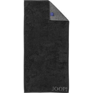 JOOP! Pyyhkeet Classic Doubleface Käsipyyhe Musta 50 x 100 cm 1 Stk.
