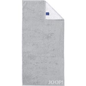 JOOP! Pyyhkeet Classic Doubleface Käsipyyhe Hopea 50 x 100 cm 1 Stk.