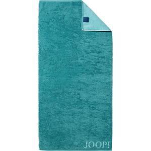 JOOP! Pyyhkeet Classic Doubleface Käsipyyhe Turkoosi 50 x 100 cm 1 Stk.
