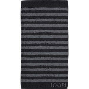 JOOP! Pyyhkeet Classic Stripes Suihkupyyhe Musta 80 x 150 cm 1 Stk.