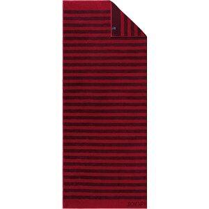 Image of JOOP! Pyyhkeet Classic Stripes Saunapyyhe Rubiini 80 x 200 cm 1 Stk.