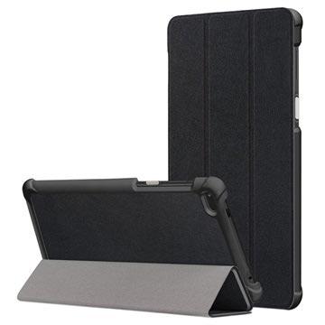 MTP Products Lenovo Tab 7 Tri-Fold Folio-kotelo - Musta