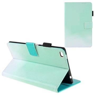 MTP Products Lenovo Tab 4 8 Two-Tone Folio Case with Stand Feature - Mint