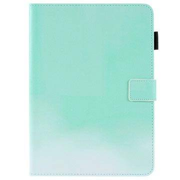 MTP Products iPad Pro 9.7 Two-Tone Folio Case with Stand Feature - Mint