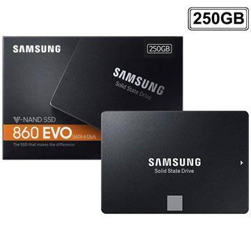 Samsung 860 EVO V-Nand SSD MZ-76E250B - 2,5 - 250GB