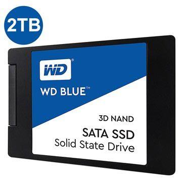 Western Digital WD Blue 3D Nand SATA SSD WDS200T2B0A - 2,5 - 2TB