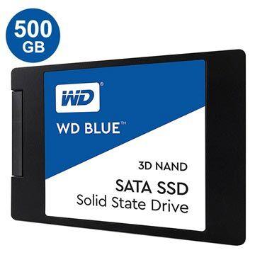 Western Digital WD Blue 3D Nand SATA SSD WDS500G2B0A - 2,5 - 500GB